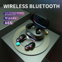 headphones wireless earphones Air 5.0 dots TWS wireless bluetooth earphone with mic HD sound #headphones #xiaomi #air #sound #world #super #discount Listen To Song, Split Design, Usb, Headphone With Mic, Bluetooth Headphones, Noise Cancelling, Headset, Consumer Electronics, Dots