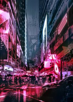 Ville Cyberpunk, Art Cyberpunk, Cyberpunk Aesthetic, City Aesthetic, Cyberpunk Anime, Cyberpunk Fashion, Steampunk Fashion, Gothic Fashion, Neon City