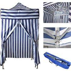 This portable changing cabana tent is the ultimate poolside accessory. Can be used as a cabana, changing room, showering tent, sun shelter. 1 x Changing Tent. Ideal when you need privacy at the beach or pool.   eBay!