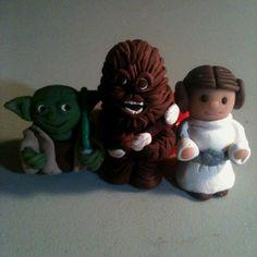Star Wars Polymer clay beads