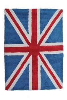 Vloerkleed Engelse vlag Blauw 140x200cm