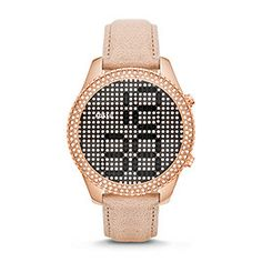 ES3443P - Electro Tick Leather Watch - Sand