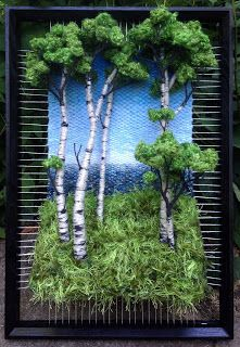 """Képtalálat a következőre: """"martina celerin"""" Art Fibres Textiles, Textile Fiber Art, Weaving Textiles, Weaving Art, Loom Weaving, Tapestry Weaving, Weaving Projects, Art Projects, Creative Textiles"""