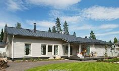 Hailuoto 153A - Takapiha | Asuntomessut Shed, Outdoor Structures, Outdoor Decor, Home Decor, Decoration Home, Room Decor, Home Interior Design, Barns, Sheds