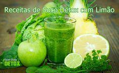Procurando receitas de suco detox com limão? Confira todos os benefícios desse suco e diversas receitas incríveis de suco detox com limão.