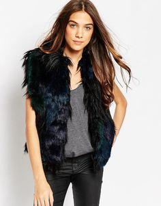 Blank NYC Faux Fur Gilet
