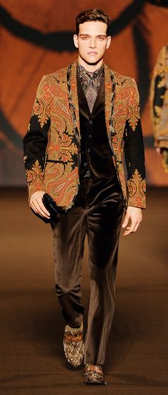 Etro - Nicely put together. An excellent change from the usual drab black and grey