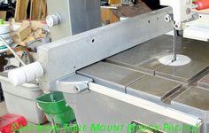 Modifying Shopsmith Mark V 500 Fence to fit a cast iron Bandsaw