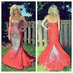 Lauren looked gorgeous in her #Jovani #Prom dress, style 172061