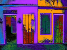 Photo-painting - Doors and window by valcir.siqueira.7