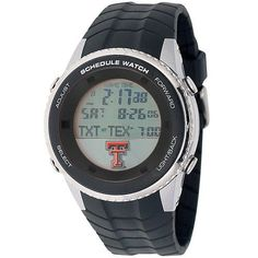 Texas Tech University Mens Schedule Wrist Watch
