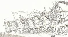 Charge of the Horsemen ~ Henning Janssen.