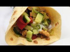 Csirkés tortilla tészta recepttel /TT/ - YouTube Tacos, Mexican, Ethnic Recipes, Pizza, Food, Youtube, Essen, Meals, Yemek