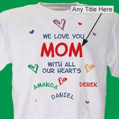 Personalized Mother's Day Gift Ideas - Nana's Corner