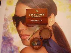 Fashion Fair 3 In 1 Gloss Goddess Eyes Lips Cheeks | eBay