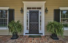 Front door, screen door