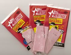 When baseball cards came with (nasty) bubble gum