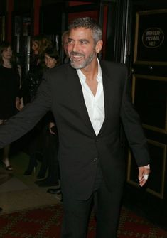 Celebrity Gallery, Rotten Tomatoes, George Clooney, Suit Jacket, Celebrities, Movies, Pictures, Fashion, Photos