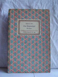 """""""Das Purpursegel. Eine Feerie"""", Autor: Alexander Grin, Insel-Bücherei Nr. 290, edition: 1952"""