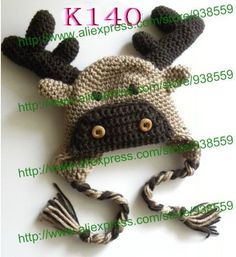 Crochet Animal Baby Hat Hand knitted