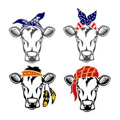 Cow Bandana Kerchief Cuttable Design Cut File. Vector, Clipart, Digital Scrapbooking Download, Available in JPEG, PDF, EPS, DXF and SVG. Works with Cricut, Design Space, Cuts A Lot, Make the Cut!, Inkscape, CorelDraw, Adobe Illustrator, Silhouette Cameo, Brother ScanNCut and other software.
