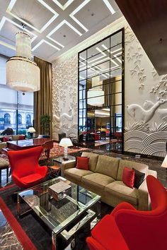 Four Seasons Hotel London at Park Lane designed by Pierre-Yves Rochon