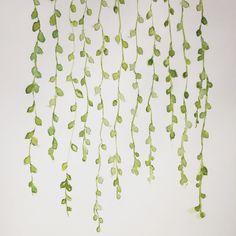 Watercolour bead plant