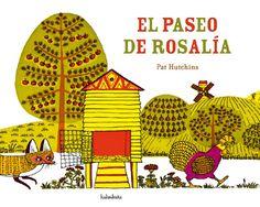 Rosalía salió una mañana a pasear, atravesó el estanque, cruzó la valle, pero llegó a la hora de  cenar.    De 0 a 3 años      http://www.kalandraka.com/blog/wp-content/uploads/2011/02/ElpaseodeRosalia.jpg