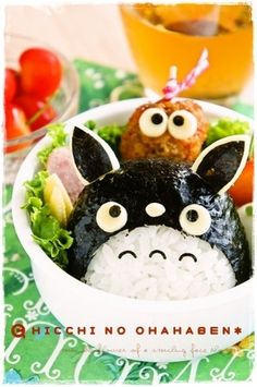 totoro lunch