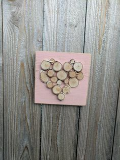 Check out this item in my Etsy shop https://www.etsy.com/listing/504014699/mini-log-slice-heart-on-distressed-pink