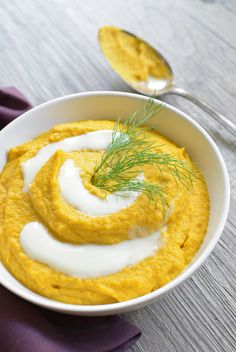 Fennel and Carrot Purée - Simple Seasonal