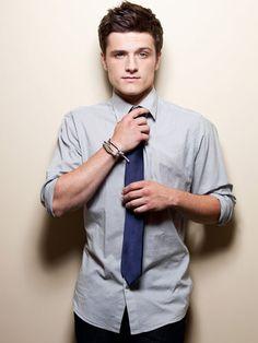alright....maybe I AM okay with him playing Peeta....