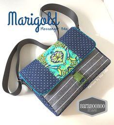 The Marigold iPad Messenger Bag PDF Sewing Pattern