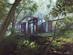 allied works - guesthouse by Benjamin Springer   Architecture   3D   CGSociety