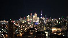 Blurry City    Panasonic GX1/Lumix 14f2.5   1/3s   f2.5   ISO400