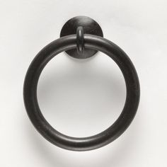 ExLarge Thick Ring Pull 010511   Wrought by NorthernCrescentIron, $11.49