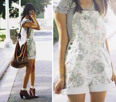 Jardineira jeans florida! http://vilamulher.terra.com.br/como-usar-jardineiras-9-9383414-292365-pfi-raquelbellosi.html