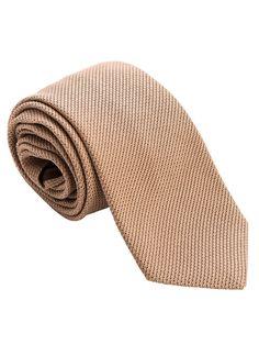 Camelo-Grenadine Fino Silk Tie