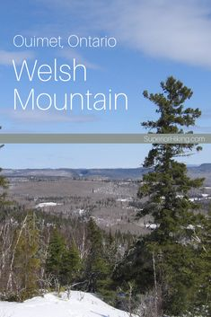 Hike to the top of Welsh Mountain near Dorion Ontario, for great views of Lake Superior and even Ouimet Canyon on a clear day. Hiking Checklist, On A Clear Day, Mountain Trails, Lake Superior, Great View, Welsh, Hiking Trails, Backpacking, Ontario