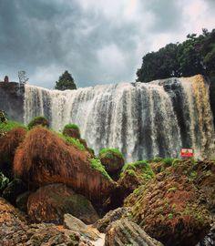 Elephant Waterfall in Dalat Vietnam [OC] [3006x3444]