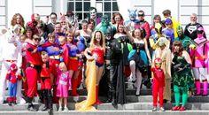 Casamento super heróis
