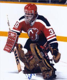 Ron Low New Jersey Devils autographed 8x10 Photograph w/COA