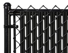 Chain Link Black Single Wall Ridged Privacy Slat For 5ft High Fence Bottom Lock…