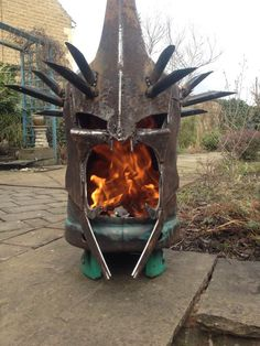 Feel The Fires Of Mordor With A Lord Of The Rings Fire Pit