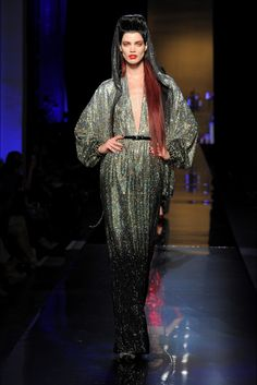Sfilata Jean Paul Gaultier Parigi - Alta Moda Autunno-Inverno 2014-15 - Vogue