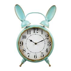 Vintage Bunny Clock, grab one while you can as they won't be here for long!!