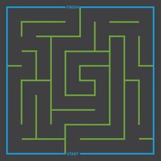 Cat and Mouse Maze Dimensions 5m x 5m