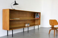 Architekten Regal 60er | Modernist Sideboard Display Shelf by Eiermann-Student | eBay