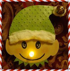 Craftily Yours: Elf Tea Light Ornament