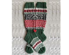 Ravelry: pattern by Giovanna Magni Ravelry, Christmas Stockings, Free Pattern, Finger, Wool, Knitting, Holiday Decor, Projects, Socks